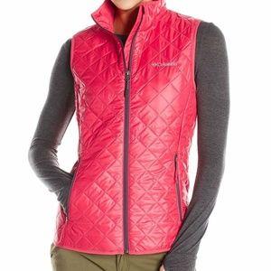 Columbia Omni-Heat Pink Vest M